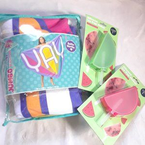 3C4G Beach Towel and Popsicle makers